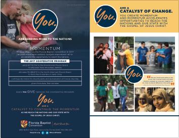 2017 Cooperative Program brochure with no logo