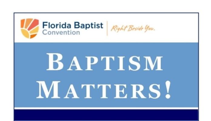 Baptism Matters -English Web