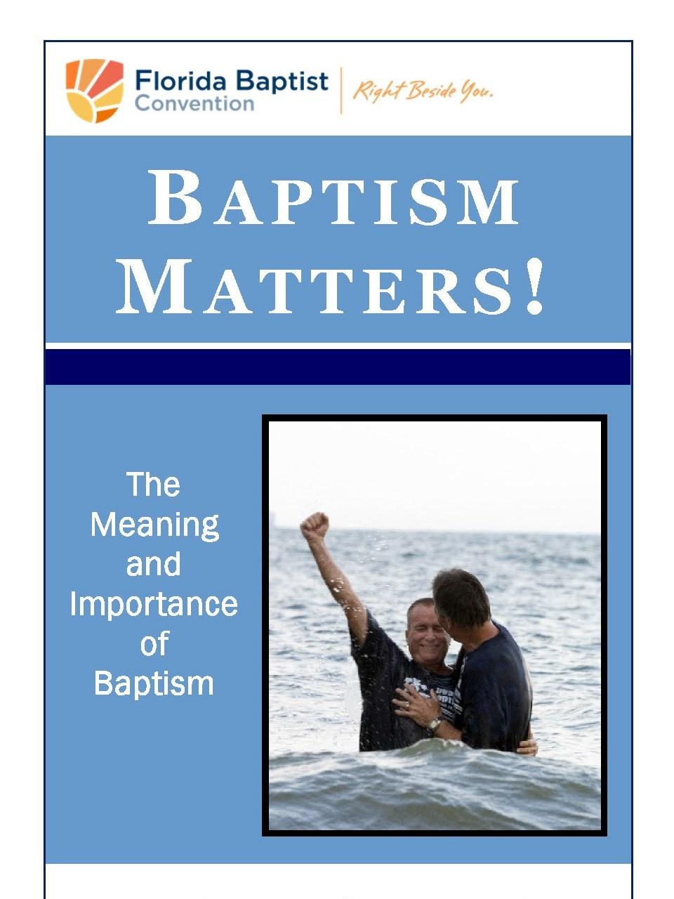 Baptism Matters -English