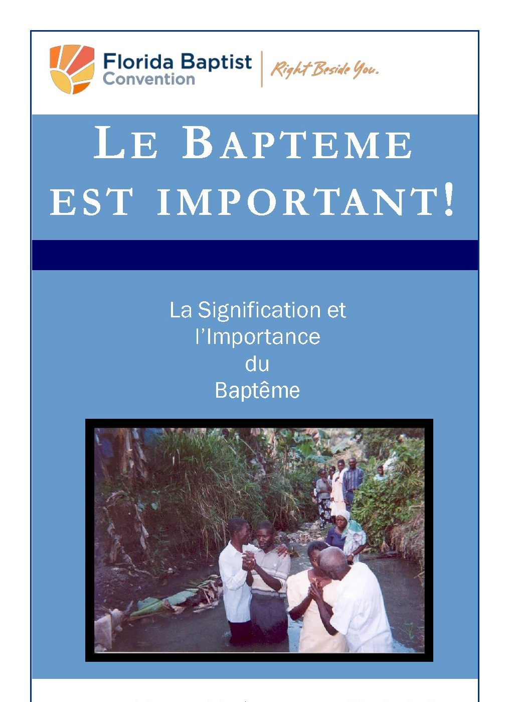 Baptism Matters -Haitian