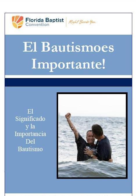 Baptism Matters -Spanish