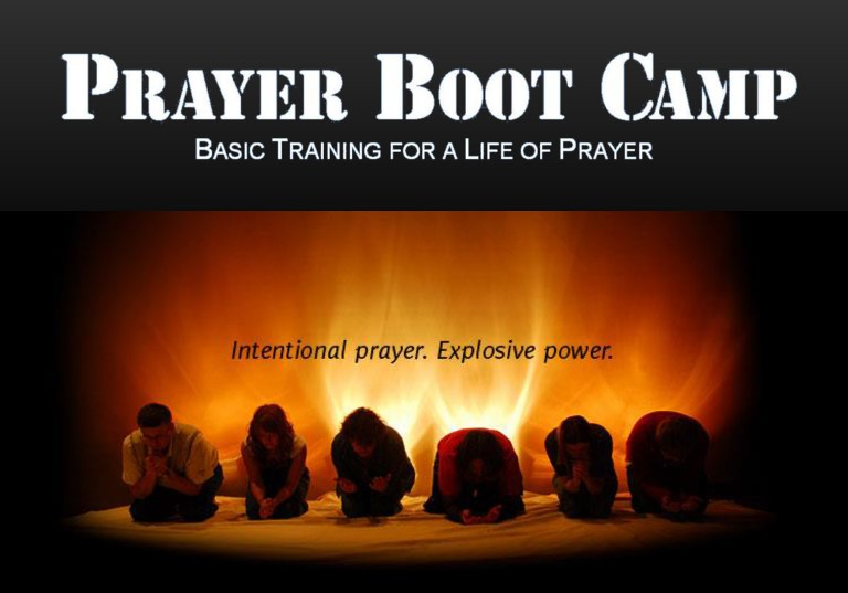 Prayer Boot Camp Web