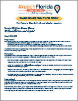 MSMO - Maguire State Mission Offering Planning Guide - Mission Study