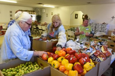 Liberty Southern Baptist Church in Plant City feeds the hungry in their community.