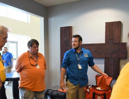 Young professional serves Christ through disaster relief