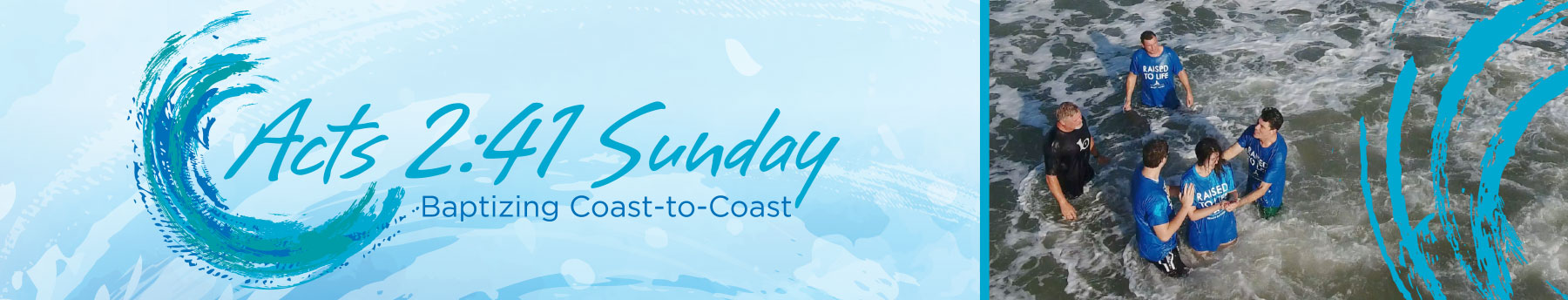 Florida Baptist Convention's Acts 2:41 Sunday • Baptizing Coast-to-Coast