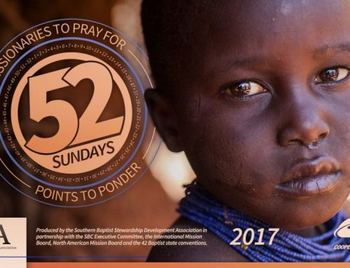 2017 Missionary Moments | 52 Sundays