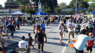 Reaching out to its community through events such as this  carnival is a key to revitalizing Parkwood Baptist Church in Jacksonville.