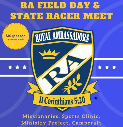 RA Field Day & State Racer Meet logo