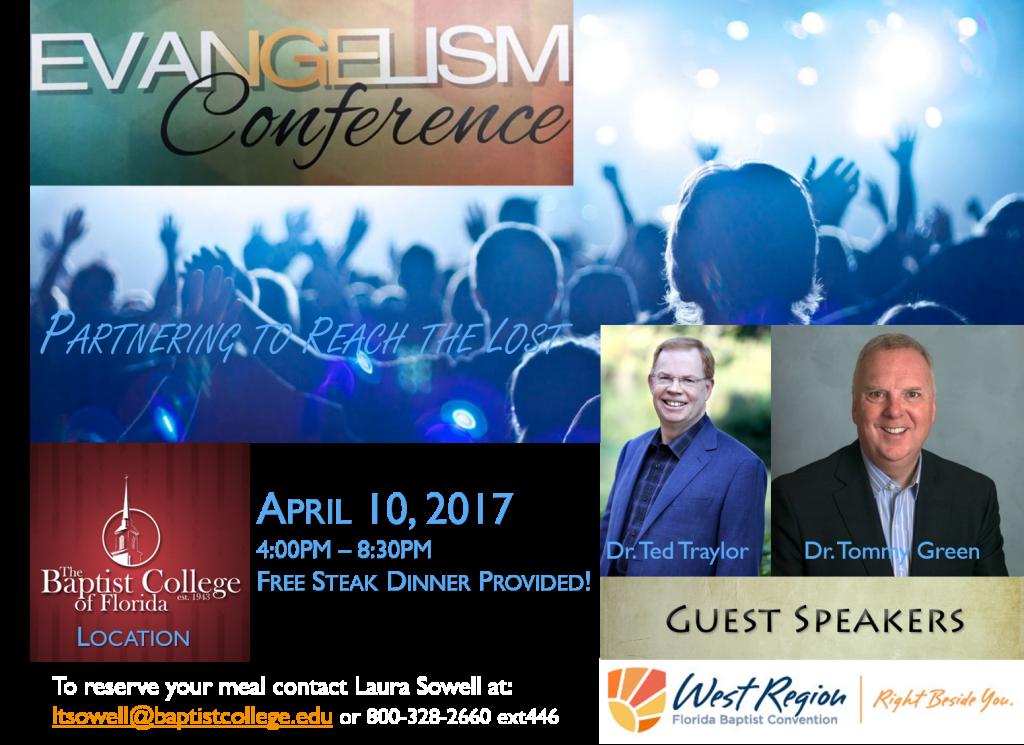 Evangelism Conf 4-10-17 WEST REV