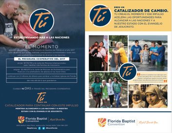 2017 Cooperative Program Spanish brochure