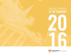 2016 Annual Report of the Churches