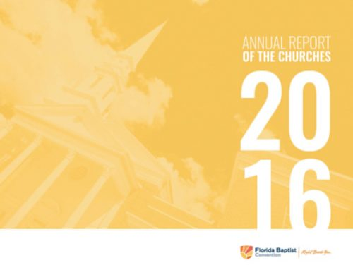 2016 Annual Report of the Churches PowerPoint