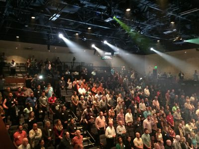 Sharper! Conference drew over 3,000 in attendance include 420 at Family Church in West Palm Beach.
