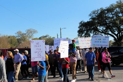 Pensacola churches rally for 'Unity in the Community' led by Myrtle Grove Baptist Church.