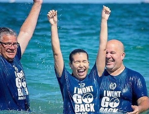 Celebrating Acts 2:41 Baptism Day