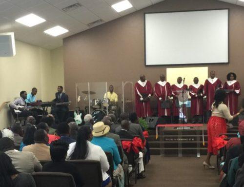 Haitian church rebuilds after devastating fire