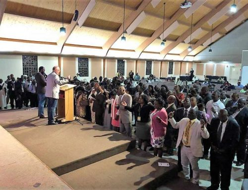 Haitian churches gather for retreat at Lake Yale
