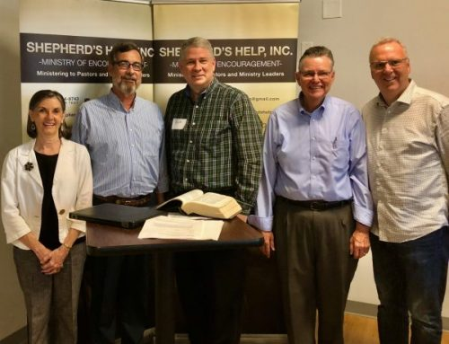 Shepherd's Help equips area pastors