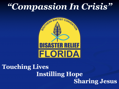 Disaster Relief, Florida Baptist Disaster Relief