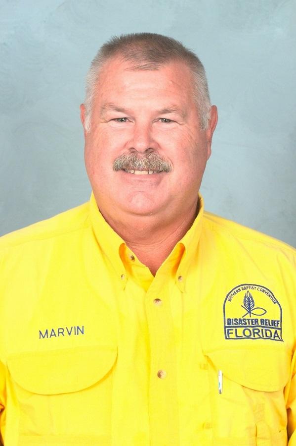 Florida Baptist Convention, Disaster Relief, Marvin Corbin