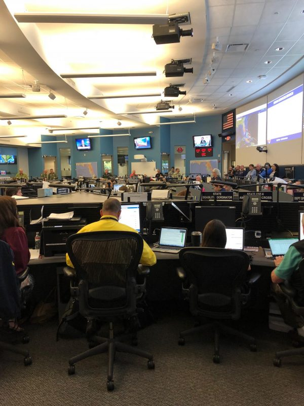 Florida Baptist Disaster Relief practices storm response