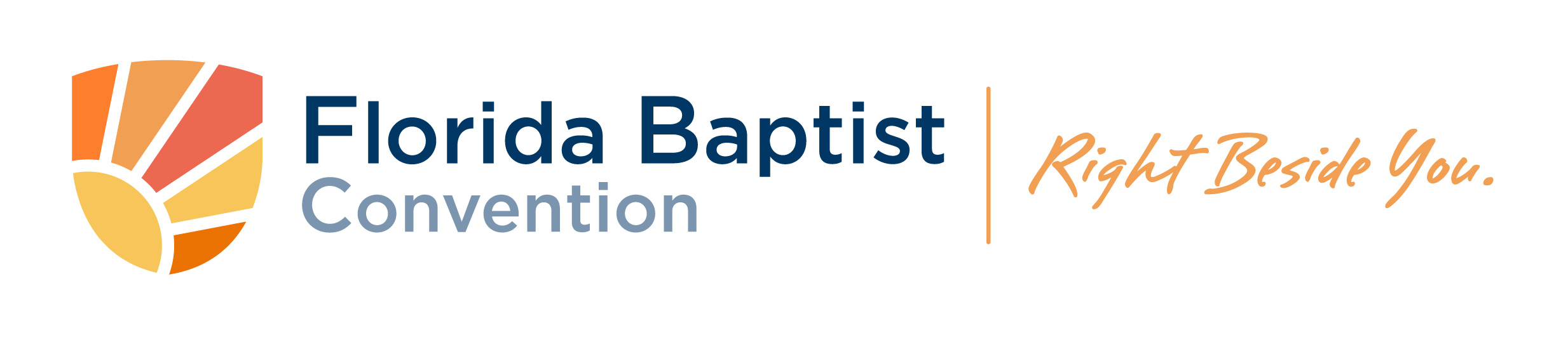 Florida Baptist Convention, FBC Logo, Right Beside You