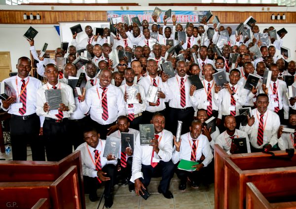 Haitian Seminary Graduation 2018