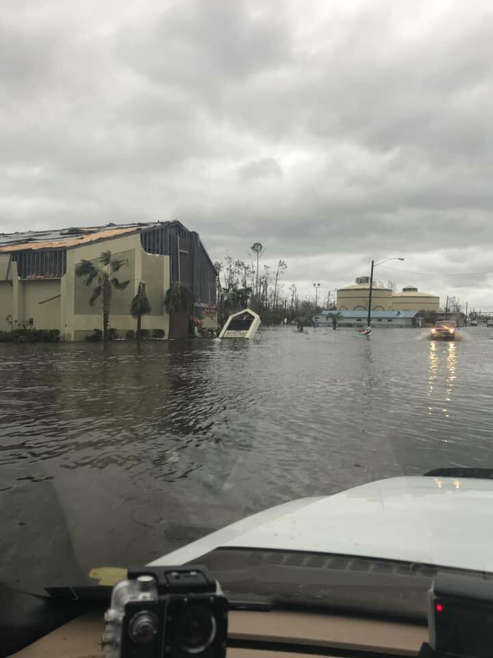 Florida Baptist DR on the ground in the Panhandle in the wake of Hurricane Michael