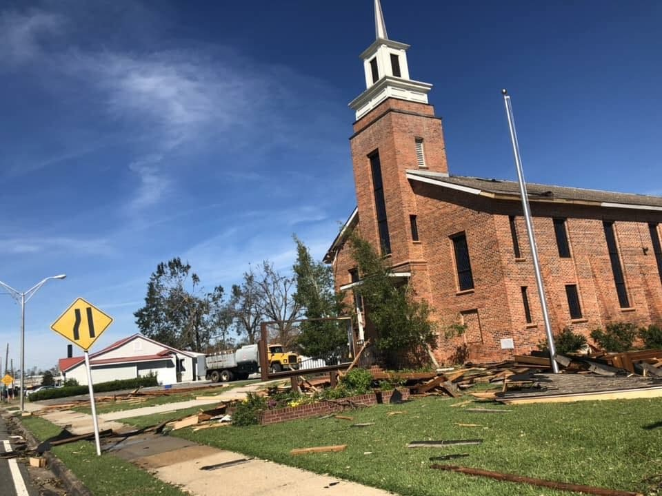 Florida Baptist Convention, Churches Helping Churches, Hurricane Michael, Disaster Relief, FBC Blountstown