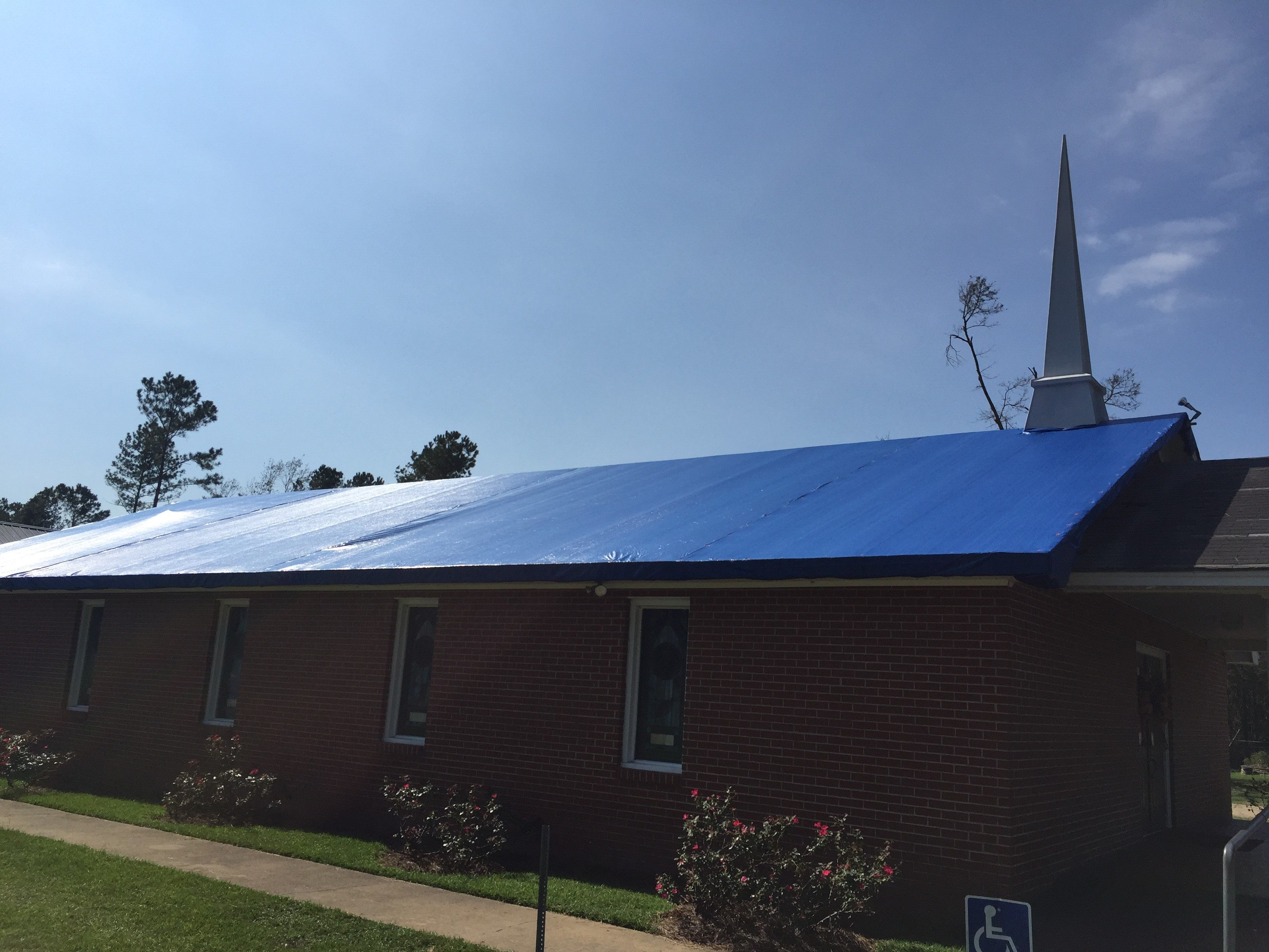 Florida Baptist Convention, Churches Helping Churches, Hurricane Michael, Disaster Relief, Calvary Baptist Church Chattahoochee