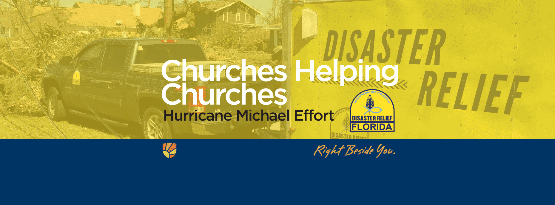 Florida Baptist Convention, Churches Helping Churches, Hurricane Michael, Disaster Relief,