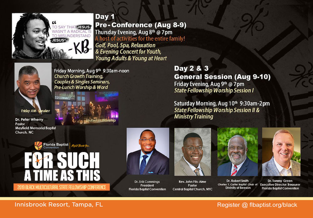 Black Multicultural State Fellowship Conference | 2019 - Florida