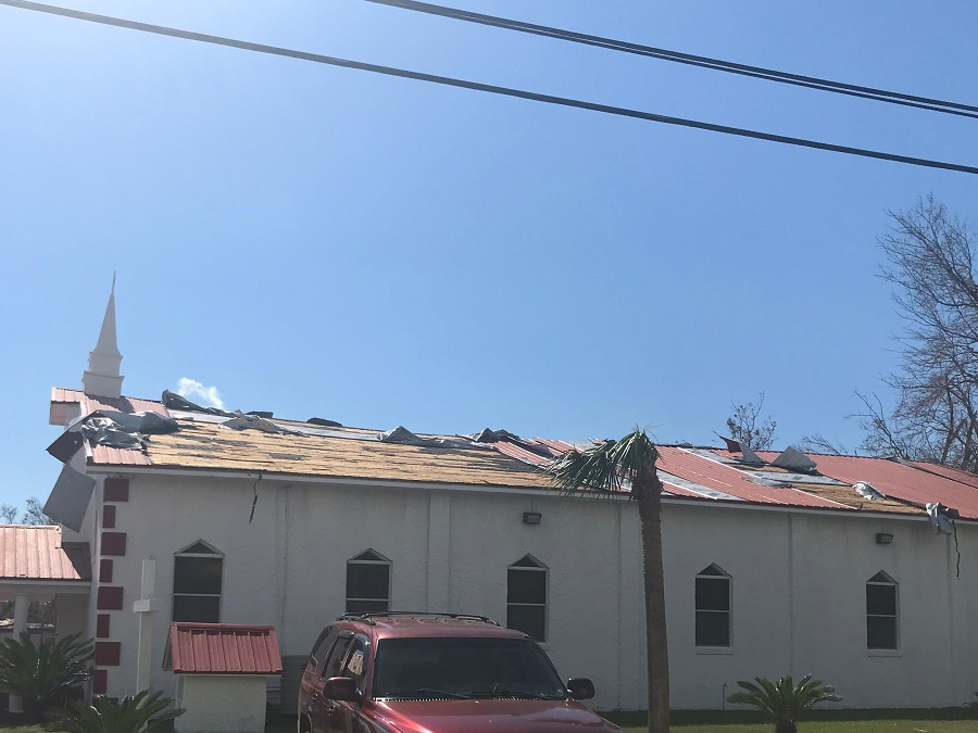 Florida Baptist Convention, Churches Helping Churches, Hurricane Michael, Disaster Relief, New Bethel Missionary Baptist Church