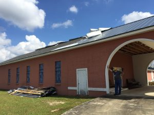 Florida Baptist Convention, Churches Helping Churches, Hurricane Michael, Disaster Relief, Piney Grove Cottondale