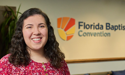 Florida Baptist Convention, Florida Baptist Convention Staff, Annie Pucciarelli