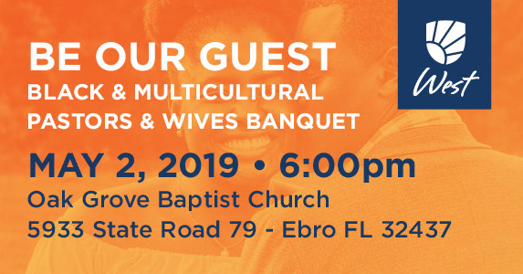 Black and Multicultural, Pastors and Wives Banquet, Florida Baptist Convention