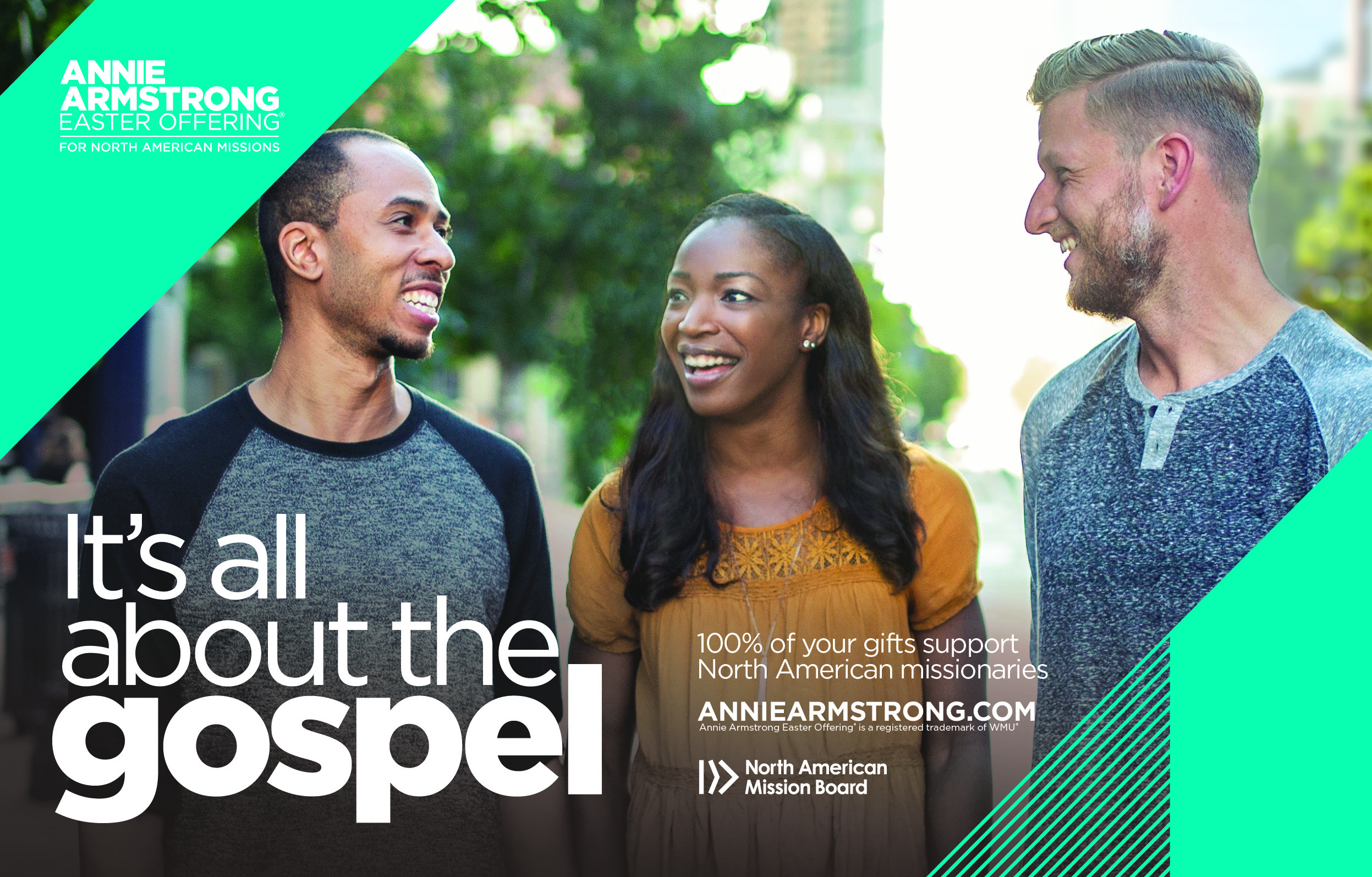 Annie Armstrong, Week of Prayer, It's all about the Gospel