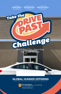 Global Hunger Relief Offering, Drive Past Challenge
