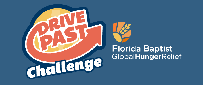 Global Hunger Relief, Drive Past Challenge, Florida Baptist Convention