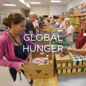 Florida Baptist Convention, Community Ministries, Global Hunger Relief