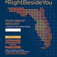 Maguire State Mission Offering, MSMO, Poster, French