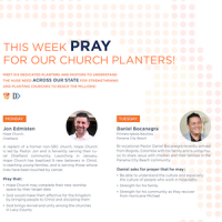 Maguire State Mission Offering, MSMO, Prayer Guide