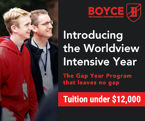 Boyce College – Worldview Intensive