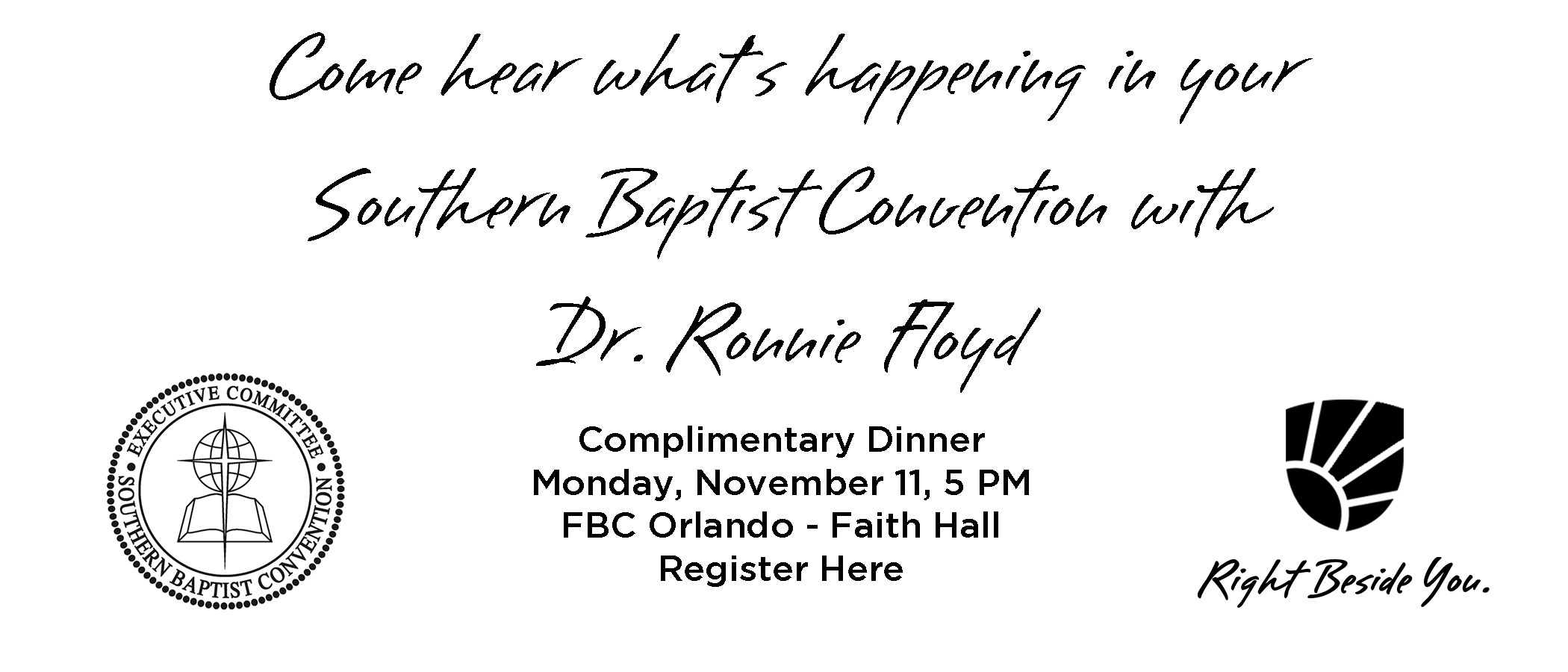 Florida Baptist Convention, Florida Baptist State Convention, Meal Ticket, Ronnie Floyd