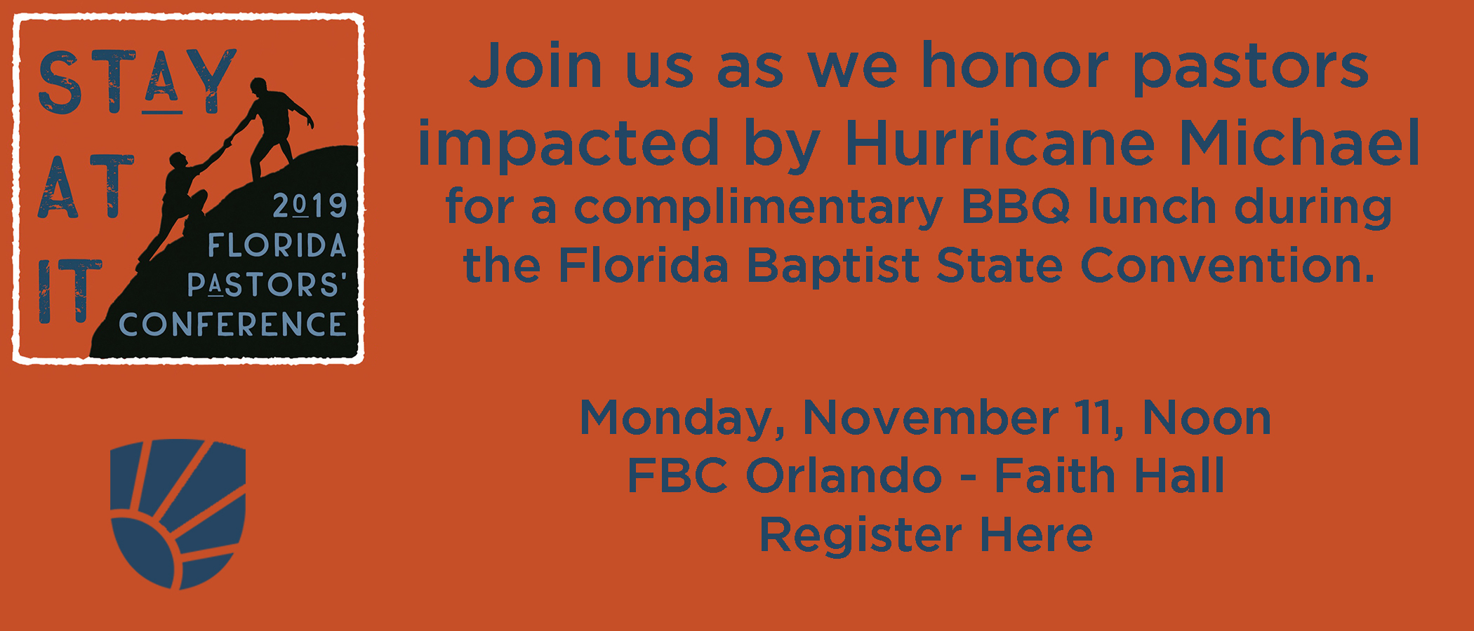 Florida Baptist Convention, Florida Baptist State Convention, Meal Ticket, Hurricane Michael