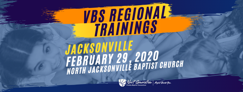 VBS Training, Vacation Bible School, North Jacksonville Baptist Church
