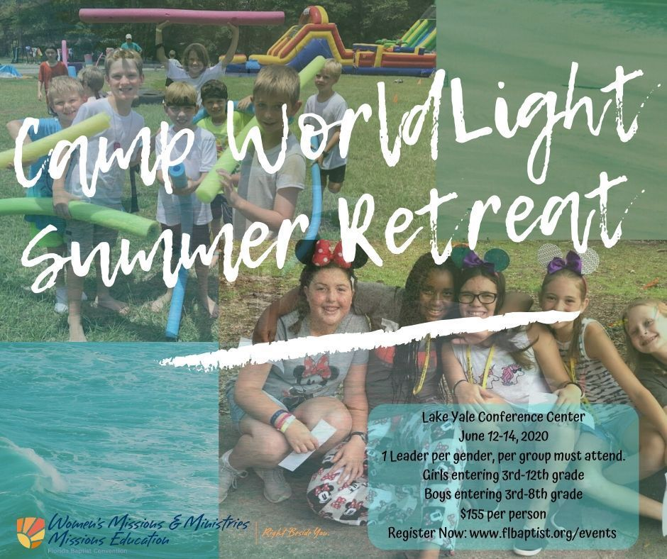 Camp WorldLight, Missions Education