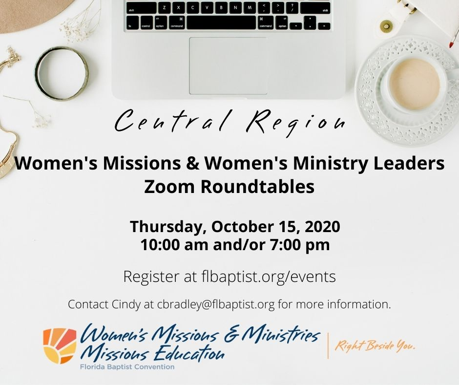 Women's Missions & Ministries Leaders Network & Roundtables