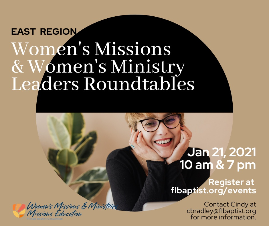 Roundtable, Women's Missions and Ministry